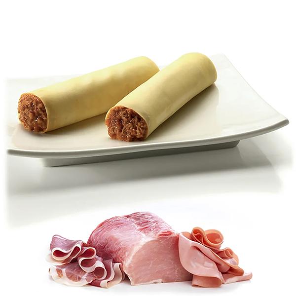 Cannelloni di Carne I.Q.F 60ud. 50grs. 3Kg
